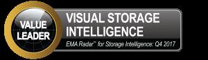 Visual Storage Intelligence wins EMA Radar's 2017 Q4 Best Capacity Management Award