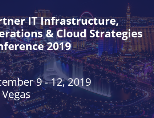 Press Release: VISUAL STORAGE INTELLIGENCE ANNOUNCES PARTICIPATION IN 2019 GARTNER IT INFRASTRUCTURE, OPERATIONS & CLOUD STRATEGIES CONFERENCE