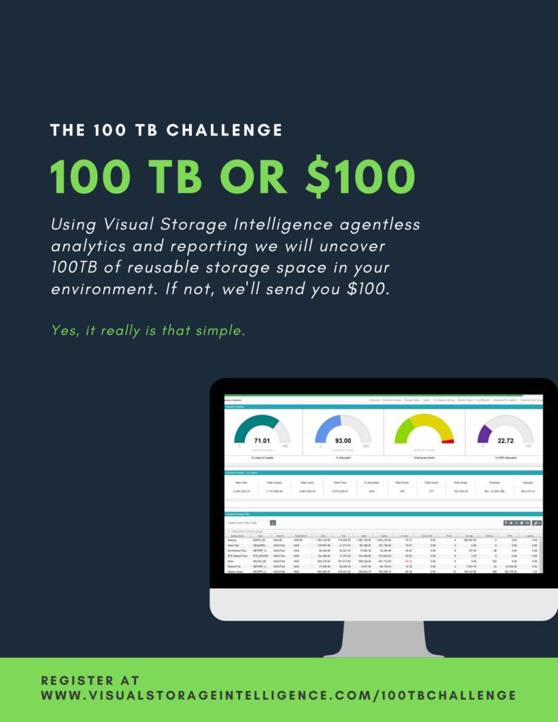 VSI 100TB Storage Challenge