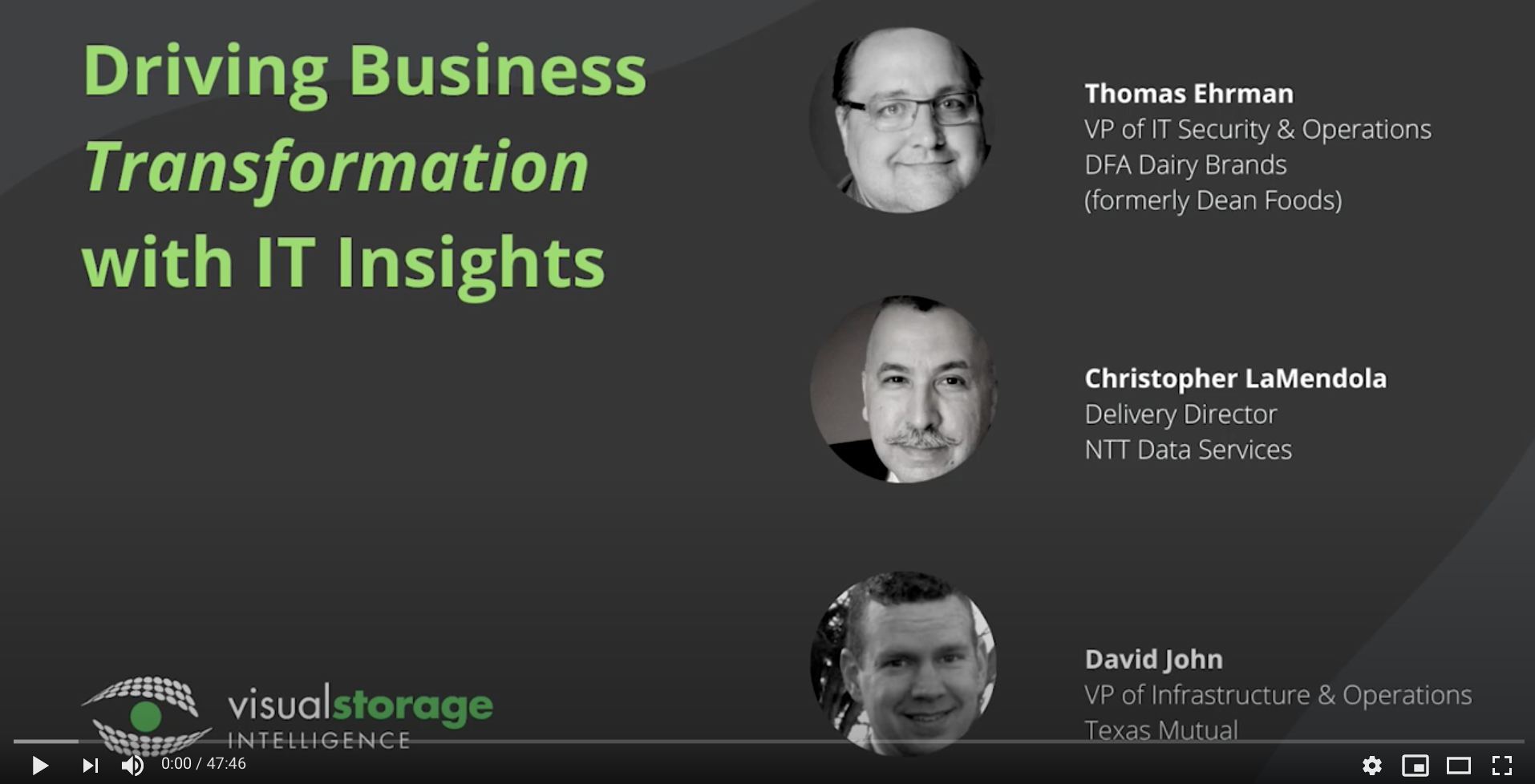 Driving Business Transformation with IT Insights