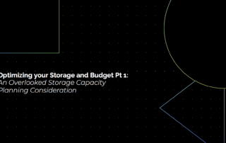 An Overlooked Storage Capacity Planning Consideration