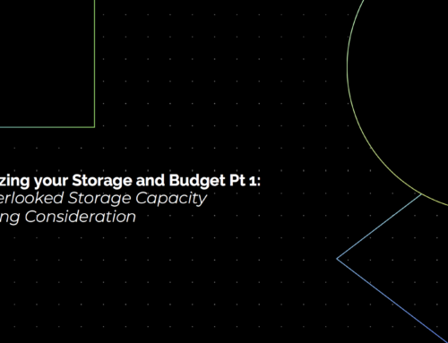 Optimizing your Storage and Budget Pt 1: An Overlooked Storage Capacity Planning Consideration