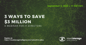 """Promotional event photo: """"3 Ways to save $3 million A Webinar for IT Directors"""" - Date: September 3rd, 2020 @ 11AM CDT"""