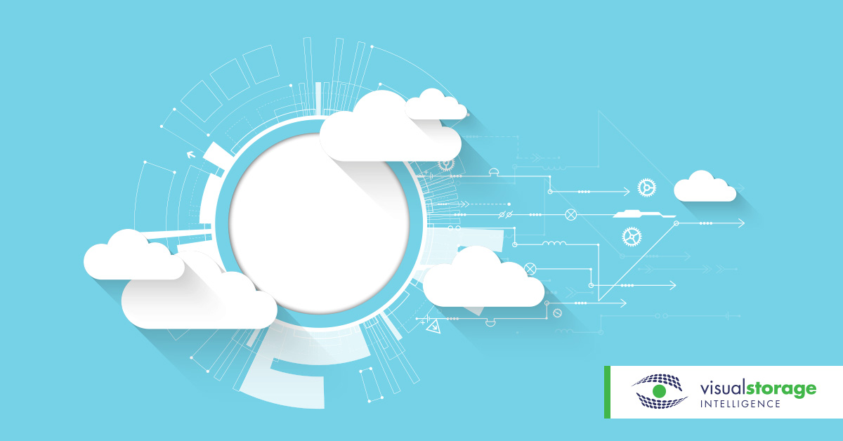 Cloud Capacity | graphic of illustrated clouds with gears to show cloud capacity technology