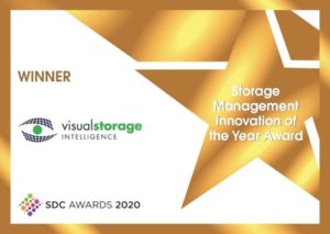 Visual Storage Intelligence beat out Pure Storage for the 2020 SDC Storage Innovation of the Year Award
